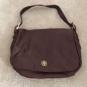Tory Burch Brown Leather Purse